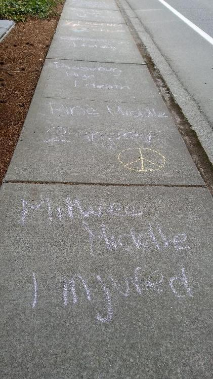 Gun Protest by Eastside Preparatory School, Kirkland, WA