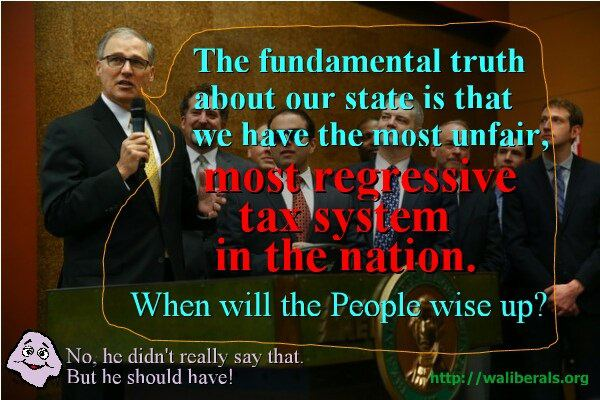 Jay Inslee on taxation