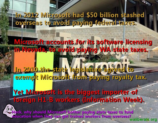 Microsoft: Tax Dodger