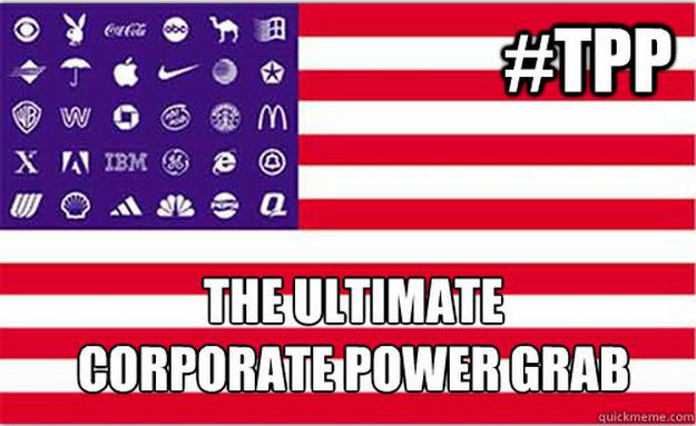 TPP=Corporate Coup