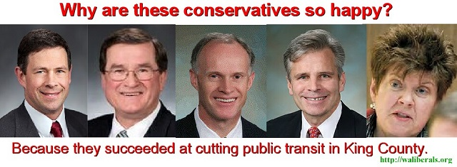 Why are these conservatives so Happy? -- Andy Hill, Curtis King, Rodney Tom, Steve Litzow, Pam Roach
