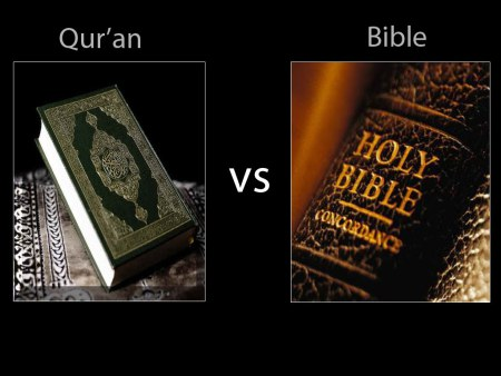 Quaran versus Bible