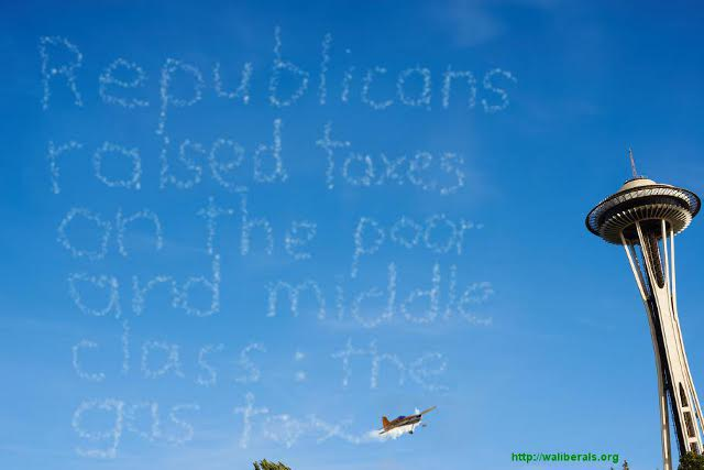Republicans raised taxes on the poor and middle class: the gas tax