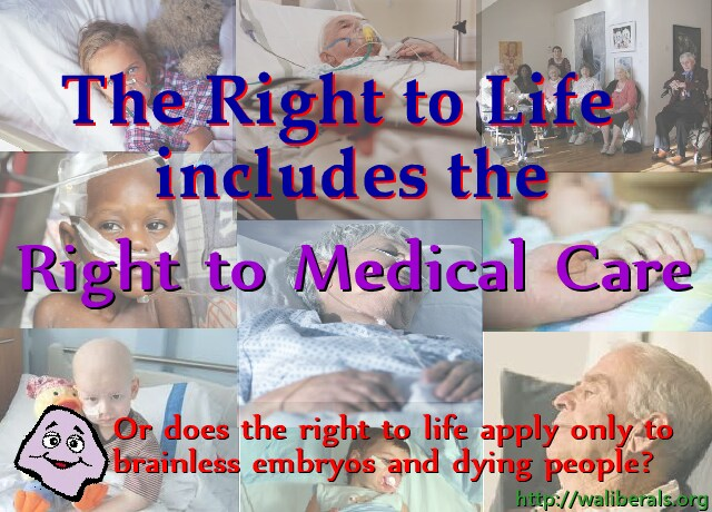The Right to Life includes the Right to Medical Care