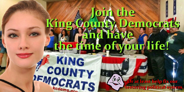 Join the King County Dems and have the time of your life!