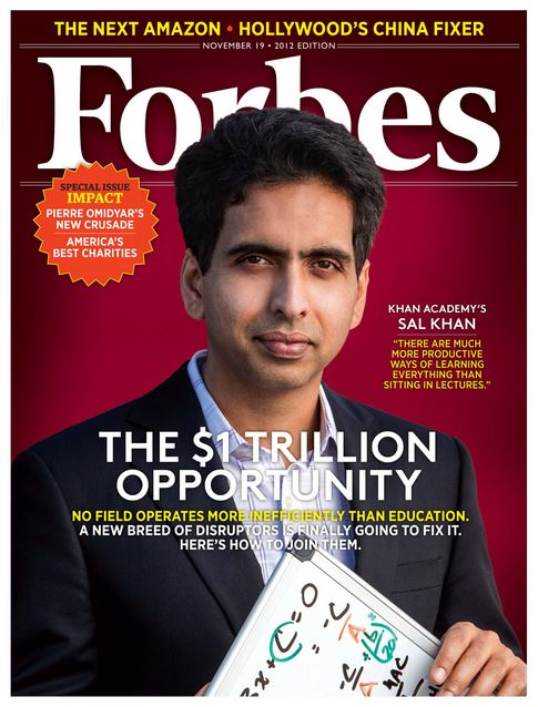 Forbes cover: education is a trillion dollar opportunity