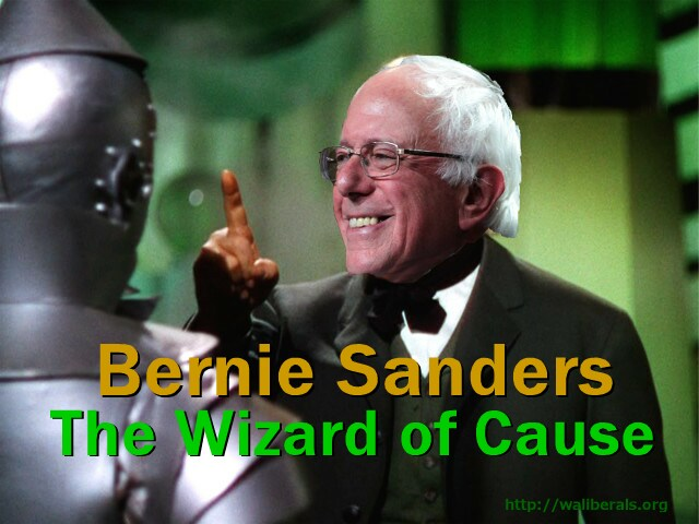 Bernie Sanders: the Wizard of Cause