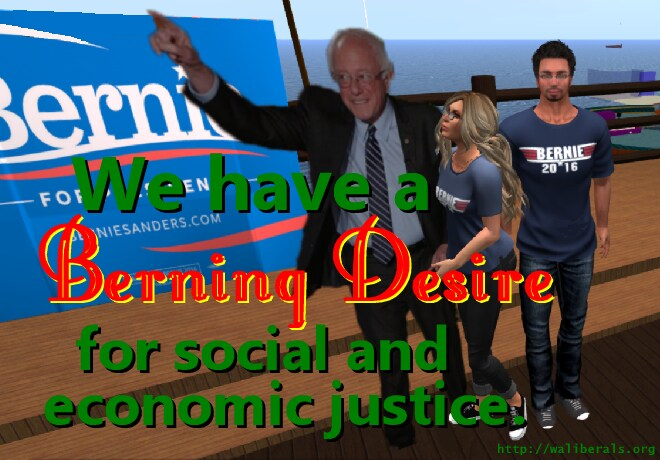 A Berning Desire for Social and Economic Justice