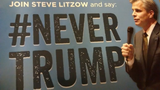 Steve Litzow says 'Never Trump' in an effort to appear moderate