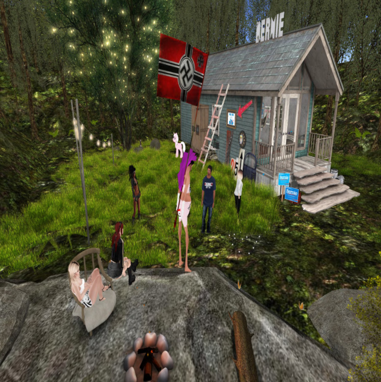 Nazi in Second Life