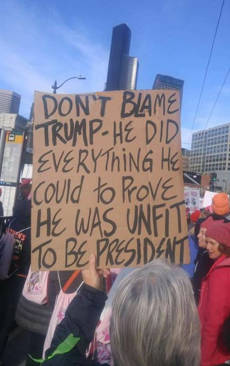 Don't blame Trump: He did everything he could to prove he was unfit to be president
