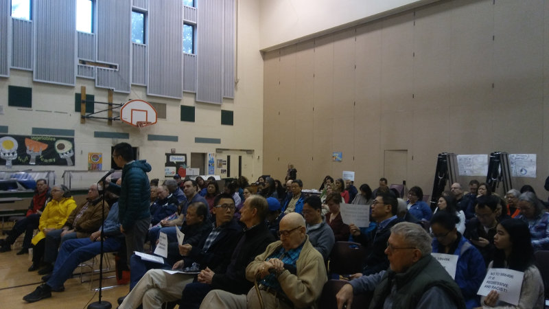 Audience at 41st LD Town Hall, Feb 17, 2018