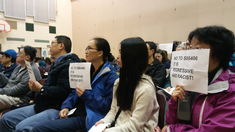 Asian Americans Opposed to SB 6406