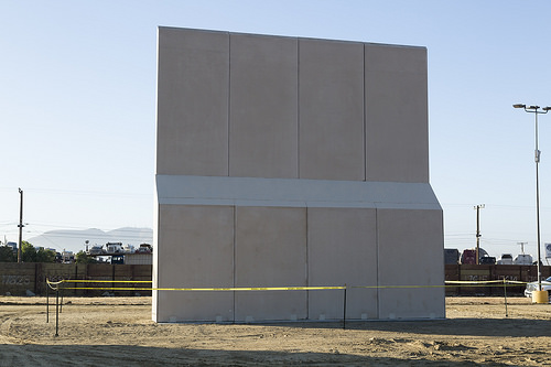 Border wall: https://www.flickr.com/photos/54593278@N03/24075842318/