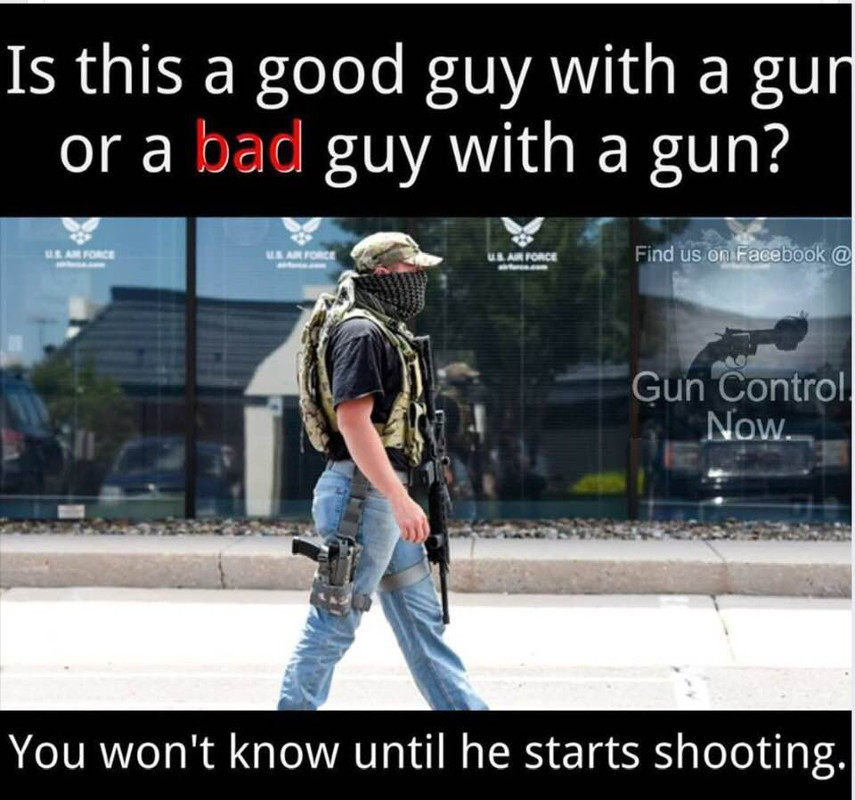 Is this a good guy with a gun or a bad guy with a gun?